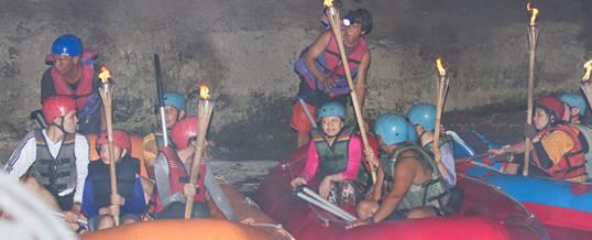 Rafting Di Bali Sungai Ayung Malam