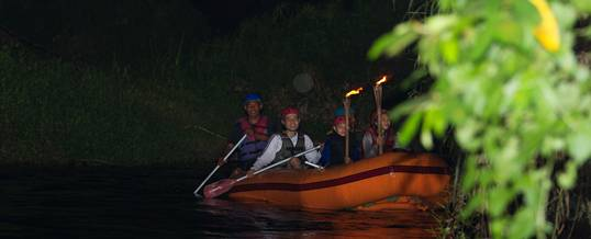 Outing Bali Night Rafting Ubud Camp