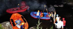 Outbound Di Bali Night Rafting Adventure Ubud