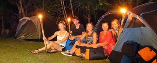 Paket Wisata Adventure di Bali Camping & Tubing Ayung