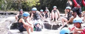 Paket Wisata Adventure Di Ubud Camping & Tubing Ayung River