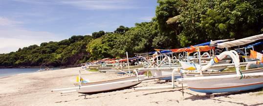 Pantai Virgin - Perahu Nelayan
