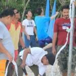 Paket Outbound Bali Basket Pantai Omron
