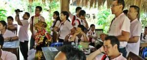 Outbound Bali Bank Mandiri Seminar Taro PS3