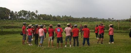 Outbound Di Bali Team Building & Cycling Bongkasa Ice