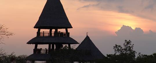 Paket Outing The Menjangan Tower Sunset