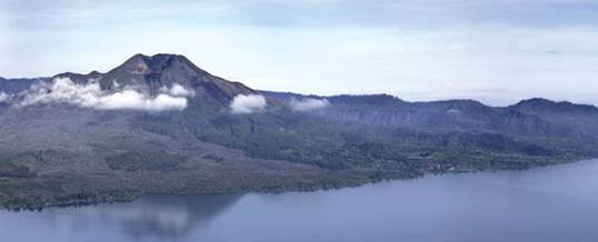 Lokasi Outbound Di Tepi Danau Batur Kintamani Bali - Gunung