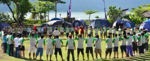 Lokasi Outbound Di Tepi Danau Batur Kintamani Bali - Toya