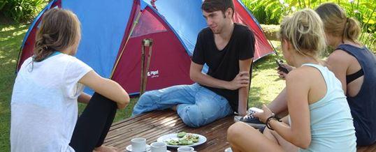 Paket Adventure Bali Camping & Rafting Ubud Camp