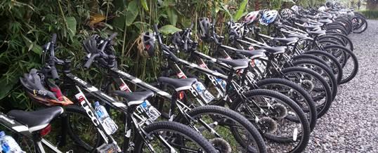 Paket Outing Perusahaan di Bali – Kintamani Cycling & Ayung Rafting