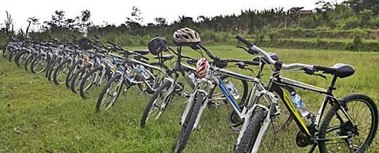Paket Wisata Adventure Di Bali - Cycling Parking