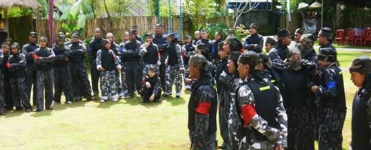 Paket Wisata Adventure Di Bali - Paintball Briefing
