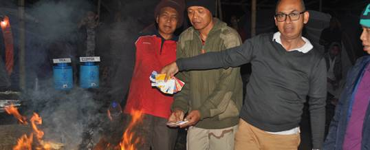 Gathering Camping & Cycling Bank Mandiri Bali & NTT ATM 18-12-2015 02