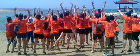 Outbound di Bali - The Susshi Bar Feature