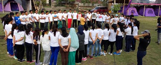 Outbound di Bali Toya Devasya GenBI - 01