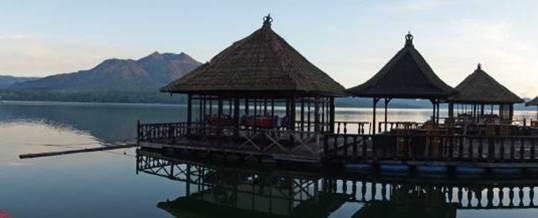 Paket Outbound Bali Restaurant Apung Di Kintamani