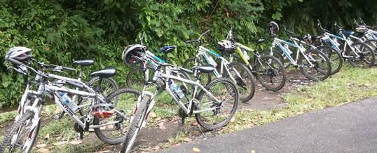 Outbound Bali Amazing Race Cycling Bongkasa 1