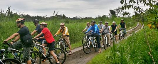 Outbound Bali Cycling di Bongkasa Kombinasi Tubing
