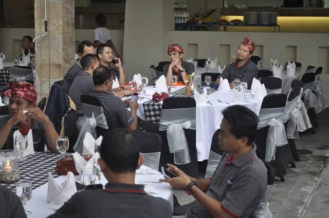 Outbound Bali Dinner GWK - Lintasarta 5