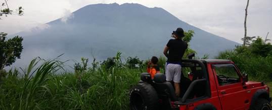 Paket Offroad Bali Pemandangan Gunung-GA 1