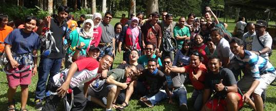 Foto Sesion Bali Tree Top Outbound WWF