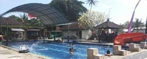 Bali Outbound Tirta Yasa Mambal Kolam Renang