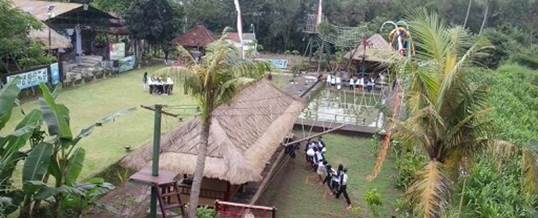 Outbound di Bali – Tirta Yasa Mambal Camp