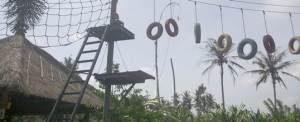 Outbound Bali Tirta Yasa High Rope Game