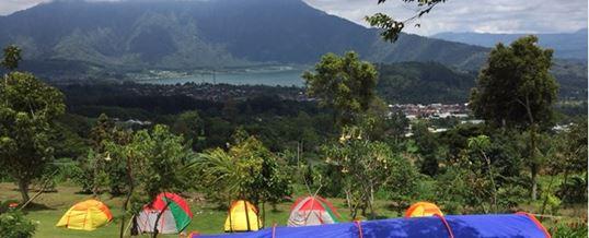 Outbound di Bali Agro Puncak Camping Pemandangan Indah