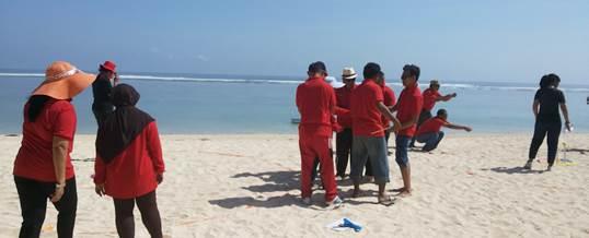 Outbound Team Building di Bali - KPPN Jatim - Sentosa Wisata