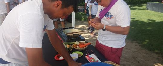 Bali Outbound Tema Cooking Competition - CTBC Bank