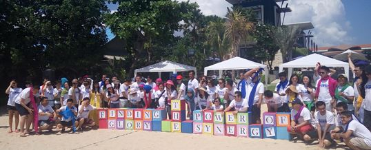Outbound di Bali Tema Cooking Competition CTBC Bank