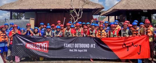 Family Outbound di Bali Ke-2 Bullseye 1