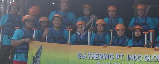 Gathering Tema Wisata Adventure Rafting - PT. Indo Global Trade 10