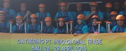 Gathering Tema Wisata Adventure Rafting - PT. Indo Global Trade 8