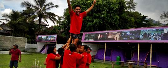 Outbound Team Building - Ace Hardwere Bali 10