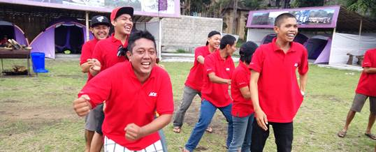 Outbound Team Building - Ace Hardwere Bali 3