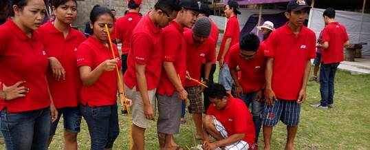 Outbound Team Building - Ace Hardwere Bali 8