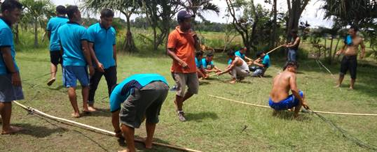 Outbound Team Building Game - PT Tri Wahana Universal II 3