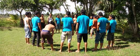 Outbound Team Building Game - PT Tri Wahana Universal II 5