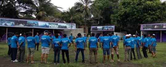 Outbound Team Building - Sea Trek Bali 1