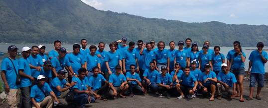 Outbound Team Building - Sea Trek Bali 10