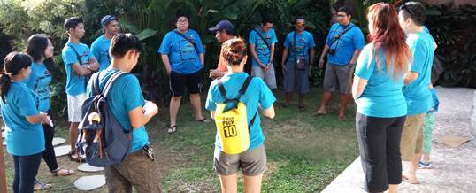 Outbound di Bali VW Amazing Race & Rafting - PT. Viros Prime Solution 1