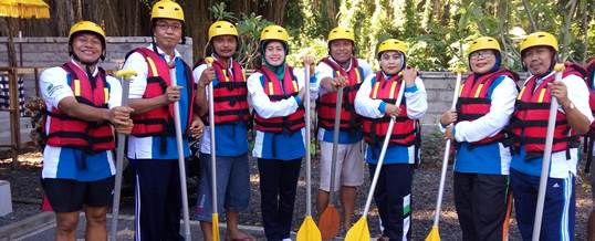 Outbound di Bali VW Amazing Race & Rafting - PT. Viros Prime Solution 2
