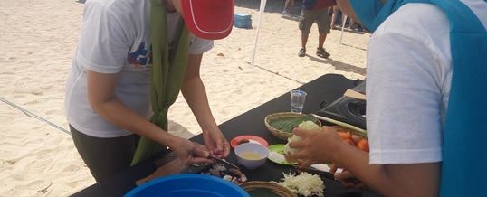 Tema Acara Outbound di Bali Cooking Competition - CTBC Bank