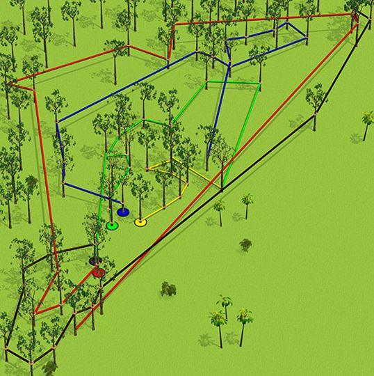 Bali Treetop Kebun Raya Bedugul Circuit