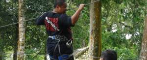 Outbound di Bali Treetop Kebun Raya Bedugul 06