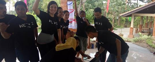 Outbund Bali Indoor Fun Team Building - Kopernik - Ice Breaking 1612165