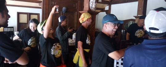 Bali Outbound Land Rover Amazing Race - Exclusive Networks & F5 - Lunch