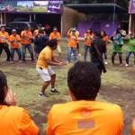 Family Gathering di Bali - Ice Breaking - Jasa Raharja Cabang Bali